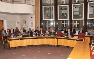 —Blick in den Plenarsaal – rechts; Foto: Dietmar Linke