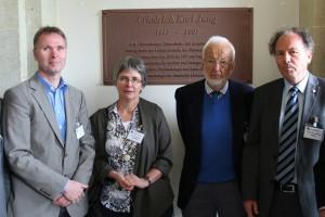Prominente Teilnehmer (v.l.): Herr Haucke, Frau Jewgenow, Herr Oehme, Herr Banse