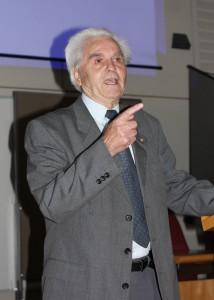 Ehrenpräsident H. Hörz; Foto: D. Linke