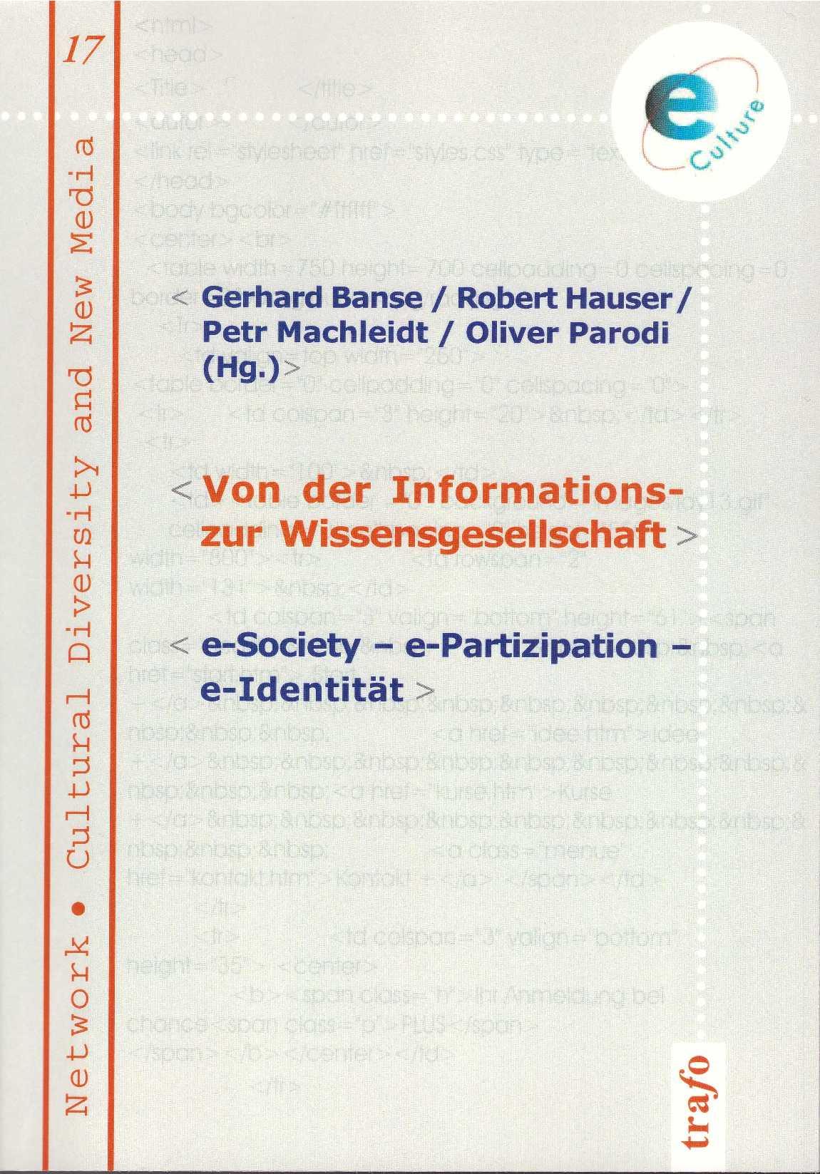 Titelseite Bd. 17