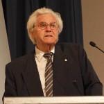 Ehrenpräsident H. Hörz bei der Festrede(Foto: D.Linke)
