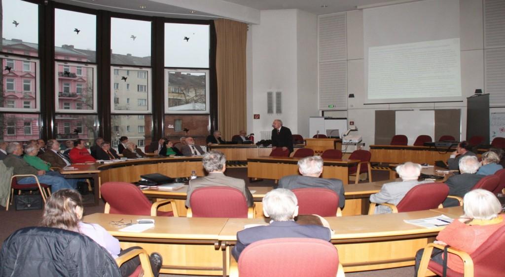 Blick in den Tagungssaal;  Foto: D.Linke
