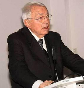 Prof. Dr. Dr. hc. mult. Helmut Moritz Foto: Dietmar Linke