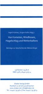 Titelankündigung durch den Verlag