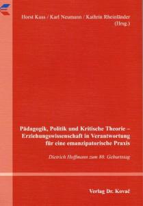Pädagogik, Politik un Kritische Theorie: Titel