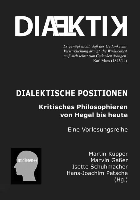 Buchtitel: Dialektik ... trafo-Verlag