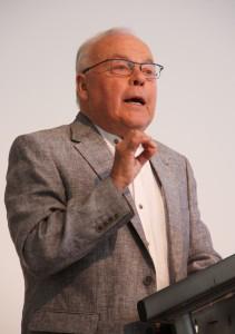 Herr. Dr. Büttner bei seiner Dankesrede; Foto: D. Linke