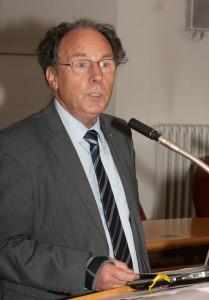 Präsident Banse bei der Eröffnung; Foto: D. Linke
